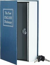 Book Safe Box Lock Vault Water Fire Proof Home Money Gun Cash Sentry Protection