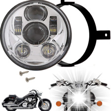 Eagle Lights Honda VTX Chrome Projection LED Headlight - Plug and Play