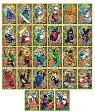 Lego® Ninjago™ Serie 5 Trading Card Limitierte Holo Neon Ultra Karten LE1-LE27