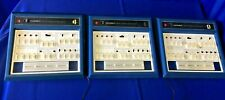 Lot of 3 HEATHKIT ET-3200 Digital Design Experimenters - ALL POWER ON -FOR PARTS