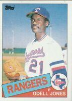 FREE SHIPPING-MINT-1985 Topps #29 Odell Jones Rangers PLUS BONUS CARDS