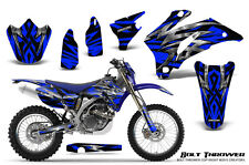 YAMAHA WR250F WR450F 2007-2011 GRAPHICS KIT CREATORX DECALS BTBLNP