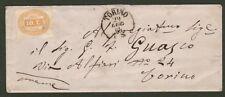 REGNO. Let. del 29.7.1864 interna a Torino. Applicato segnatasse cent. 10 giallo
