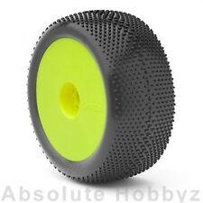 AKA Racing 1:8 Truggy EVO GRIDIRON Pre-Mountd Yellow (MED Long Wear) (2)