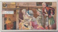 Halloween All Hallows Day Traditions and History 1920s Trade Ad Card