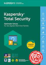 Kaspersky Total Security 2018 5 PC / Gerät / 1 Jahr / auf PC, Mac und Android