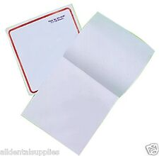 """Dental Disposable Poly Coated Non-Skid Foam Mixing Pads 3""""x3"""" 100 Sheets 9518584"""