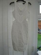 Topshop Stretch, Bodycon V Neck Regular Dresses for Women