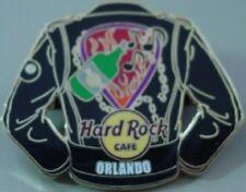 Hard Rock Cafe ORLANDO 2006 Black LEATHER JACKET Series PIN - HRC Catalog #31838