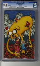 Adventure Time # 1 Virgin Cover D - CGC 9.4 WHITE  Pages - First app Finn & Jake