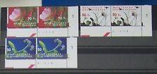 Ned. - Serie paren Bloemen 1994 pf. met Etsingnrs