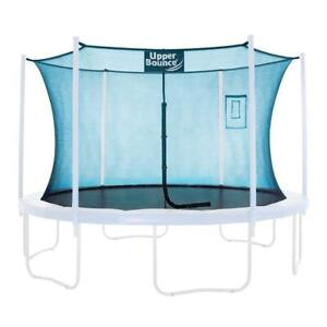 Upper Bounce Trampoline Safety Enclosure Replacement Net with Smartphone/Tabl...