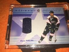 SAN JOSE SHARKS OWEN NOLAN GAME USED ALL STAR JERSEY BE A PLAYER