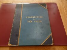 More details for celebrities of the stage boyle lawrence george newnes 1900s hardback rare & read
