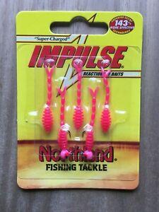 Northland Fishing Tackle - Impulse® Rigged Skeleton Minnow - Pink