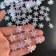 200/300pcs Christmas Snowflakes Shiny Confetti   Party Wedding Ornament DIY