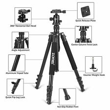 Portable Aluminium Travel Tripod&BallHead for Canon Nikon DSLR Camera Telescope