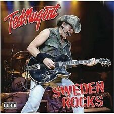 Ted Nugent Sweden Rocks Live CD NEW SEALED Metal Stranglehold/Cat Scratch Fever+
