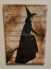 "Wizard Oz Wicked Witch of West Ding Dong the Witch is Dead 2"" x 3"" Fridge MAGNET"