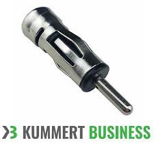1 PKW & KFZ Autoradio Antenne-Adapter ISO Kupplung Buchse DIN Stecker Antenne