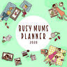 2020 Busy Mums Planner Square Wall Calendar by Paper Pocket 30 x 30cm 17175