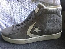 Converse Pro Leather 76 Mid 155336C Cadet grey white egret Men's size 9.5