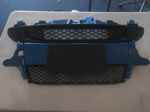2008-15 Smart car For two Front Bumper W/ 2 Grills OEM Blue Complete shiny