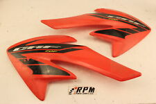 2004 honda crf70f OEM LEFT and RIGHT FRONT SIDE SHROUD FAIRING COVER PANEL SET
