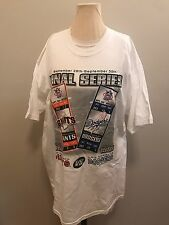 Final Series San Francisco Giants Los Angeles Dodgers 1999 Men's Xl Shirt New