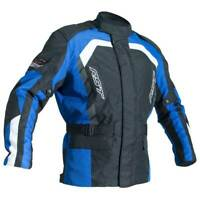 RST Alpha 4 CE Motorbike Motorcycle Textile Jacket Black / Blue
