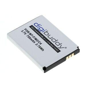 digibuddy Premium Akku für AVM FRITZ!Fon MT-F / M2 / C4 / C5 / 312BAT006