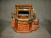 Sale!  Vintage McCoy Pottery Wishing Well Planter