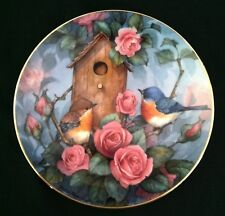 "Royal Doulton The Franklin Mint Heirloom ""Settling In"" Collector'S Plate"