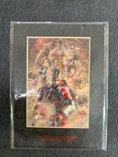 Bandai Namco TEKKEN 6 Promo Limited Edition Laser Cel Certificate of Auth