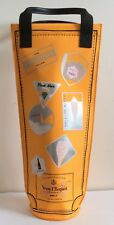 Veuve Clicquot VCP Traveler Wine Champagne Carry Case Insulated Cooler Bag Tote