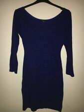 Blue Dress with pattern Size 12 by PIED A TERRE
