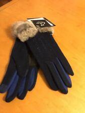 $59  Echo touch  gloves with Rabbit fur  size medium  #39K