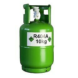 Brand New R404a Refrigerant Gas Refillable Cylinder 10 KG - 99.99% purity
