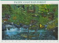 2000 Nature of America Sc 3378 Pacific Rain Forest  #2 in series