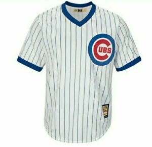 Chicago Cubs Majestic Cooperstown Cool Base Jersey - White -Small