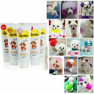 Pet Dog Hair Color Dye Coloring Dyeing Harmless Natural Dyeing Agent Harmless