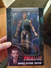 NECA Predator Jungle Patrol Dutch Action Figure Arnold Schwarzenegger