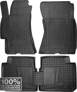 Rubber Carmats for Subaru Legacy 2004-08 All Weather Fully Tailored Floor Mats