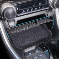 Black Center Console Storage Box Organizer Holder 1pcs For Toyota RAV4 2019-2021