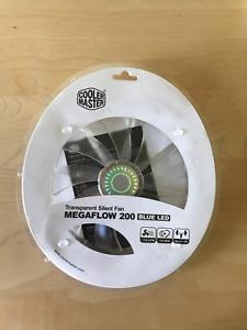 Cooler Master Megaflow 200 Blue LED - Sleeve Bearing 200m Silent Fan