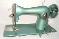 Antique vintage green TIKKA TIKKAKOSKI sewing machine collectible