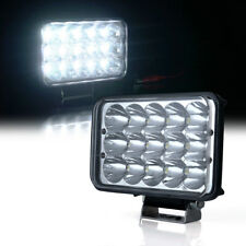 Xprite 45W LED Headlight High/Low Beam Spot Light Work Lamp for SUV Jeep Truck