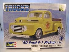 1950 FORD F-1 TRUCK REVELL 1:25 SCALE 2n1 PLASTIC MODEL TRUCK KIT