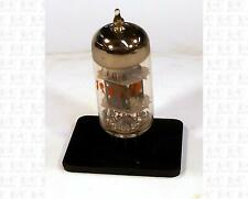RCA 12AT7 Vacuum Tube USA Used Good Gray Plates Small Ring Getter Red Label