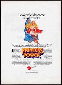 SHE-RA: Princess of Power__Original 1986 Trade AD / lic. promo / poster__MATTEL